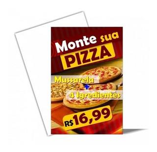Panfletos 10000un 10x14 Frente 90g Arte Inclusa (folhetos)