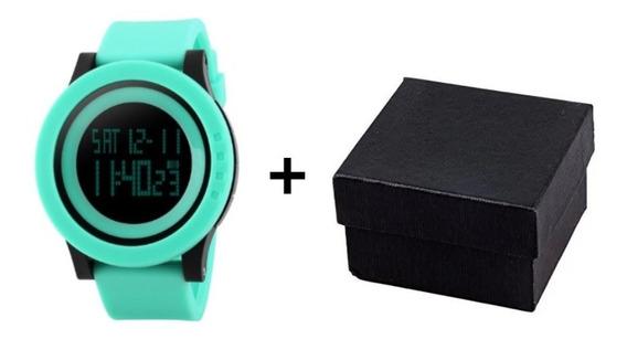 Relógio Digital Esportivo Skmei 1142 + Caixinha De Brinde