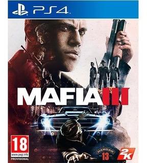 Ps4 Mafia 3 Nuevo Sellado Juego Fisico