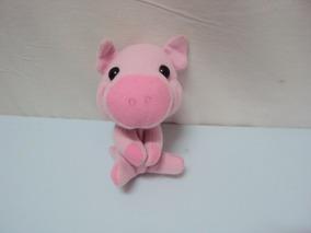 Pelucia Miniatura Porco The Pig Tamanho 11cm