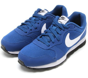 Tênis Nike Md Runner 2 Azul Original C Nota Fiscal