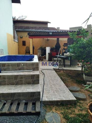 Casa Com 2 Dormitórios À Venda, 84 M² Por R$ 320.000,00 - Jardim Novo Campos Elíseos - Campinas/sp - Ca1648