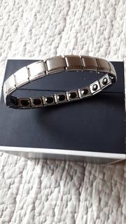 Pulsera Eslabon Clasico Tipo Rolex Antimagnetica Importada