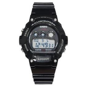 Relógio Casio W21hc Original Preto Masculino