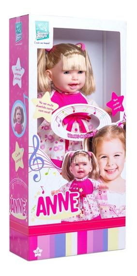 Boneca Anne Cante Comigo Recita Contos E Canta