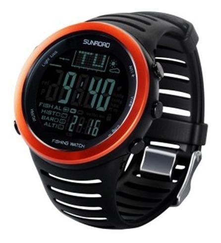 Relógio Masculino Barômetro, Altímetro, Termômetro, Cronômetro, Previsão Do Tempo, Função Fish (pesca)... (original)