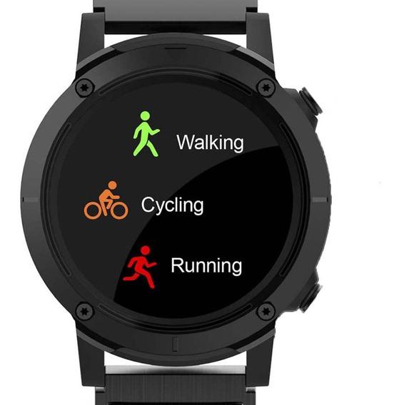 Relógio Seculus Smartwatch 79004g0svnv3 Preto C/ Função Gps