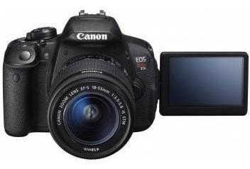 Câmera Digital Semiprofissional Canon Eos Rebel - T5i 18-55