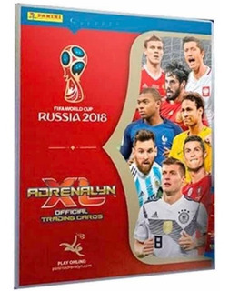 Cards Adrenalyn Xl Copa Do Mundo Rússia 2018 - Com 687 Cards