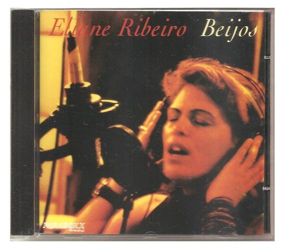 Cd Eliane Ribeiro - Beijos (ex Banda Vitoria Regia) -novo