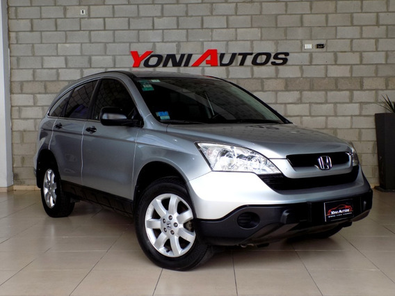 Honda Crv Lx At 2009 C/ Cuero Automatica- U-n-i-c-a-*permuto