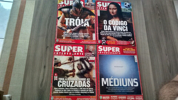 Lote Revistas Super Interessante 2004 2005 2008 200