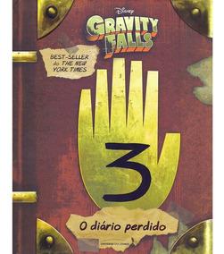 Livro - O Diário Perdido De Gravity Falls 3 Ofertão
