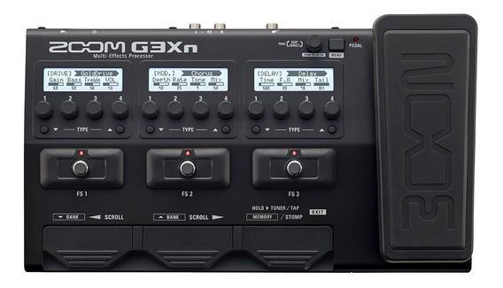 Pedaleira G3xn Zoom G3 G3x + Fonte Original Zoom Bivolt