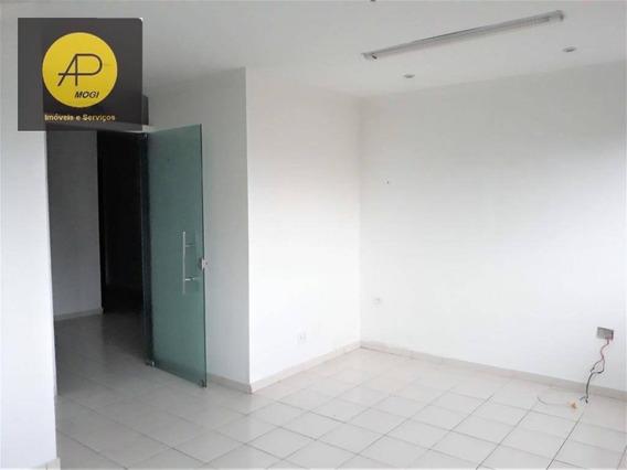 Sala Comercial Para Locação, Centro, Mogi Das Cruzes. - Sa0006
