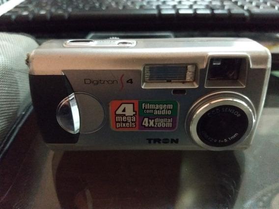 Câmera Digital Marca Tron Modelo Digitron 4 Funcionando