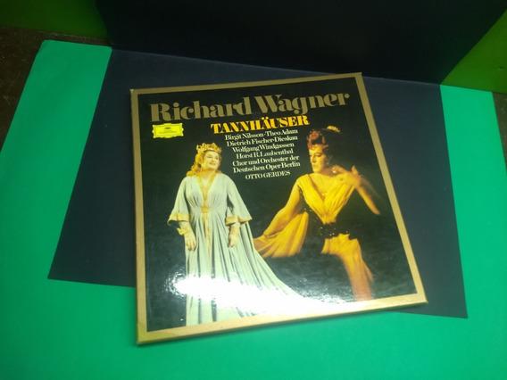 Vinyl Lp Box Set Richard Wagner Tannhauser Impecável