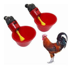 4 Pca Bebedouro Automático Vermelhod Água Potável Para Aves