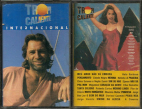 Lote 02 Fitas K7 Trilha Novela Tropicaliente Nac + Internac