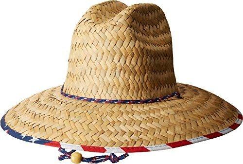 San Diego Sombrero Co Para Hombre Pajita Salvavidas Sombrero