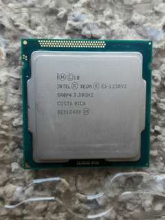 Procesador Intel Xeon E3-1230 V2 Similar Al I7 3770 Lga 1155