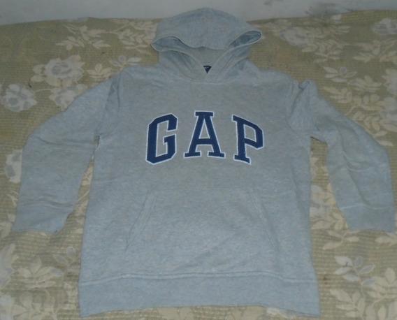 Gap Kid Moletom Capuz Infantil Tamanho Xl Usado Cor Cinza