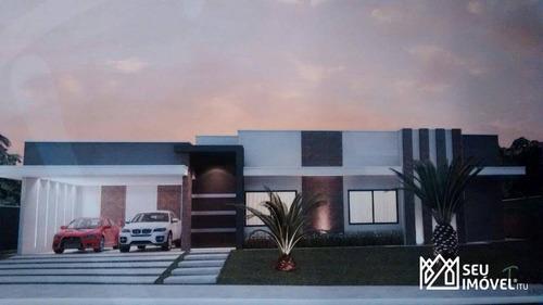 Casa Com 3 Dormitórios À Venda, 200 M² Por R$ 1.500.000,00 - Condomínio Terras De Mont Serrat - Salto/sp - Ca1554