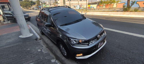 Imagem 1 de 9 de Volkswagen Saveiro 1.6 16v Cross Cab. Dupla Total Flex 2p