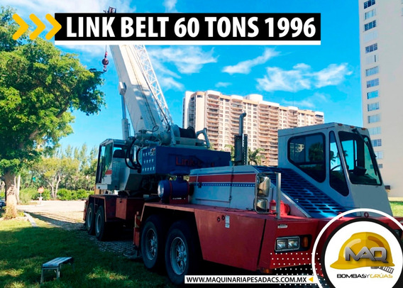 Grua Link Belt Htc860 60 Tons 1996