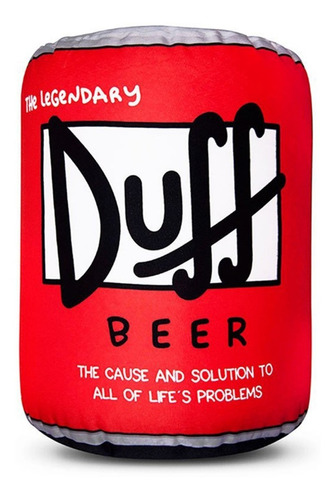 Puff Lata Cerveza Duff - Fiaca - Simpsons - Asiento
