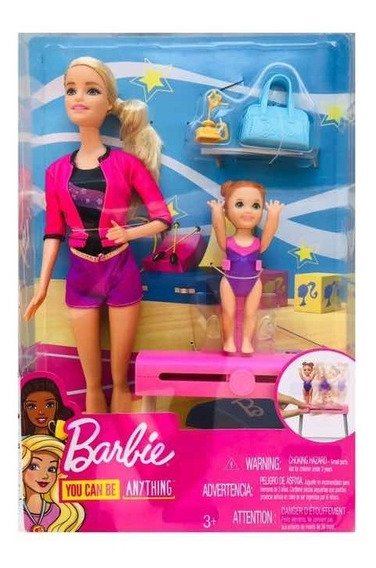 Barbie Entrenadora De Gimnasia