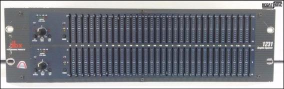 Equalizador Dbx 1231 Duplo
