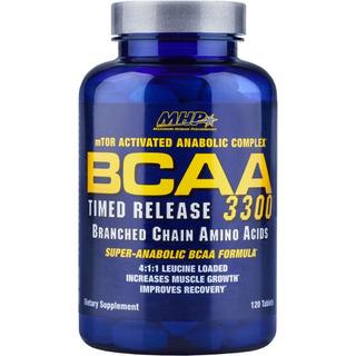 Bcaa 3300 - 120 Tabletes - Mhp - Quantidade 120 Cápsulas