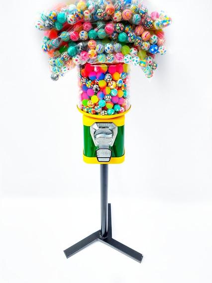 Máquina De Bolinha + Pedestal + 1000 Bolinha Pula 27mm
