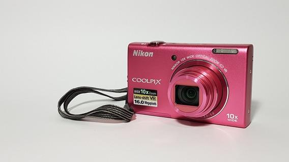 Câmera Digital Nikon Coolpix S6200