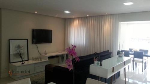 Ótimo Apartamento Com 2 Dormitórios À Venda, 100 M² - Chácara Santo Antônio (zona Sul) - São Paulo/sp - Ap1825