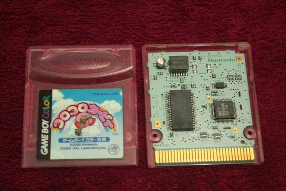 Jogo Kirby Tilt N Tumble 100% Original Para Game Boy Color