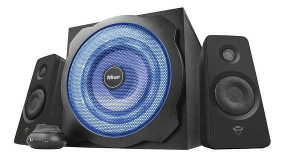 Parlantes Subwoofer 2.1gamer Gxt 628 120w Pc Ps3 - Trust