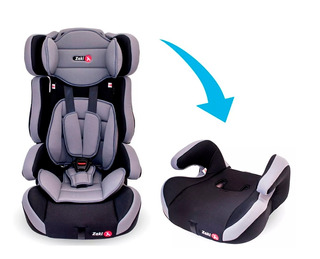 Butaca Bebe Auto Booster Resp Desmon Zaki 9-36 Kg Babymovil
