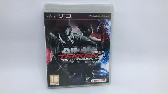 Tekken Tag Tournament 2 - Ps3 - Midia Fisica Em Cd Original