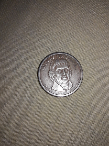 Moneda Del 3 Presidente De Estados Unidos... 120 Balbosas!!