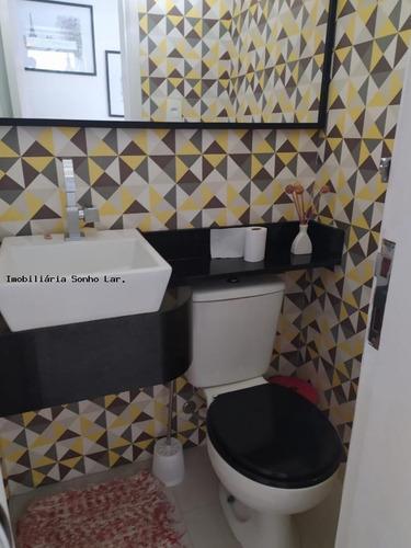 Apartamento Para Venda Em São Paulo, Vila São Francisco, 3 Dormitórios, 1 Suíte, 2 Banheiros, 1 Vaga - 8781_2-1105280
