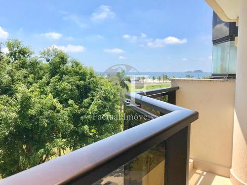Apartamento Com 3 Dormitórios À Venda, 147 M² Por R$ 890.000,00 - Enseada - Guarujá/sp - Ap9282