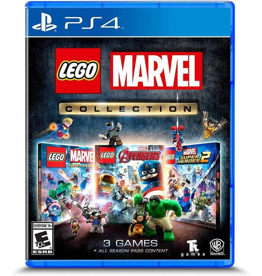 Lego Marvel Collection Ps4 Mídia Física Novo Original