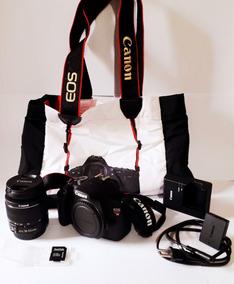Kit Canon Eos Rebel T5 + Lente 18.55mm - Mil Clicks!!!