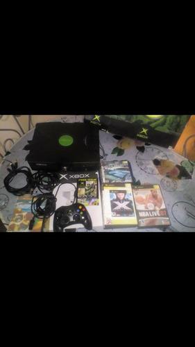 Xbox Clasico, Con 1 Control Y 15 Cd's  De Juegos