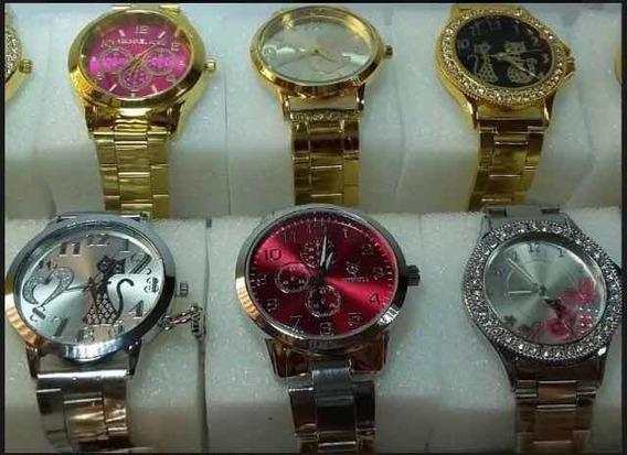 Kit Revenda 10 Relógios Femininos-lucre 100% -frete Grátis