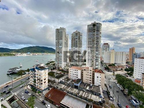 Apartamento Com 2 Dormitórios Para Alugar, 133 M² Por R$ 3.700,00/mês - Ponta Da Praia - Santos/sp - Ap1284