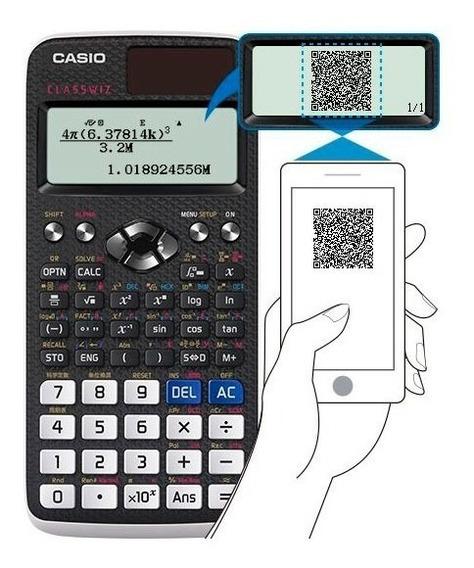 Calculadora Cientifica Casio Vis. Online Fx-991lax Função..