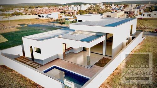 Imagem 1 de 30 de Casa Com 3 Dormitórios À Venda, 250 M² Por R$ 1.590.000,00 - Alphaville Nova Esplanada Iii - Votorantim/sp - Ca0081